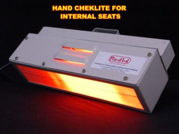Hand Held Cheklite for Internal Seat Flatness Checking